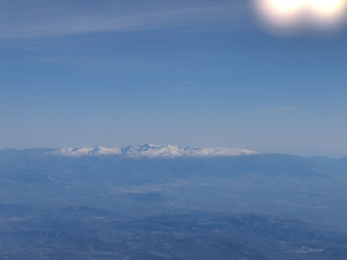 Our view arriving to Spain