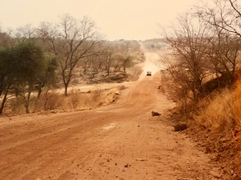 From the main road, it was dirt road until Kalale.